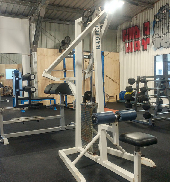 Front Gym Area