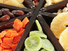 Bolo de Frutas secas