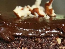 Torta de chocolate crudívera