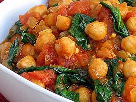 Grão de Bico com Curry