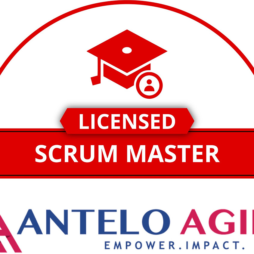 June 22nd Licensed Scrum Master $995
