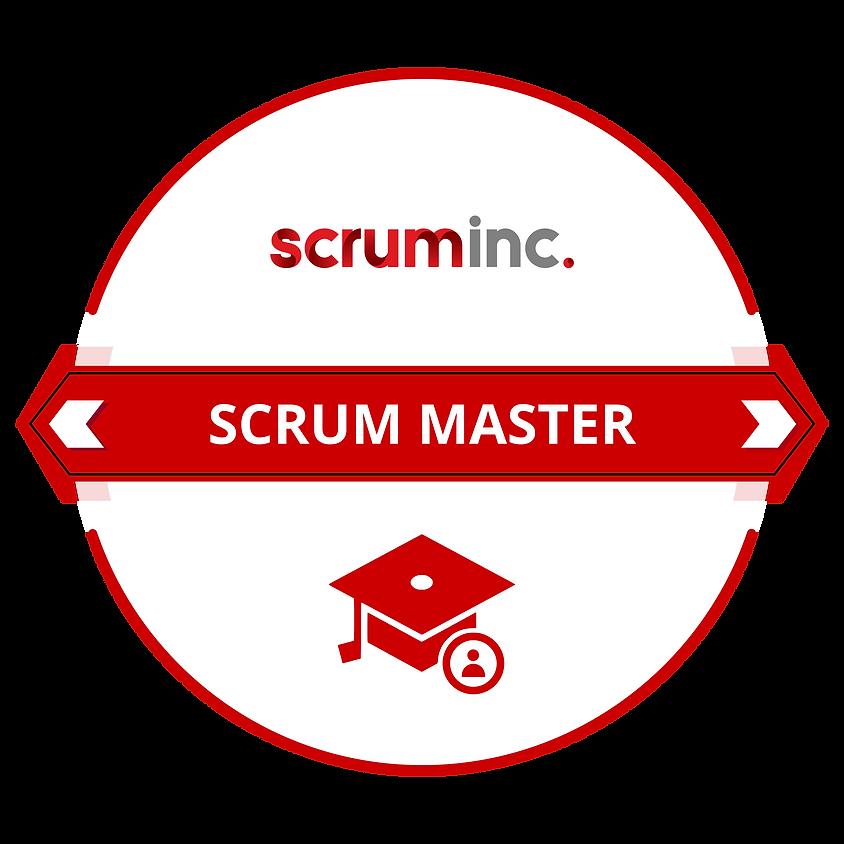 Aug Scrum Master Credential from Scrum Inc