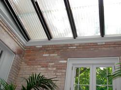 Skylight interior view