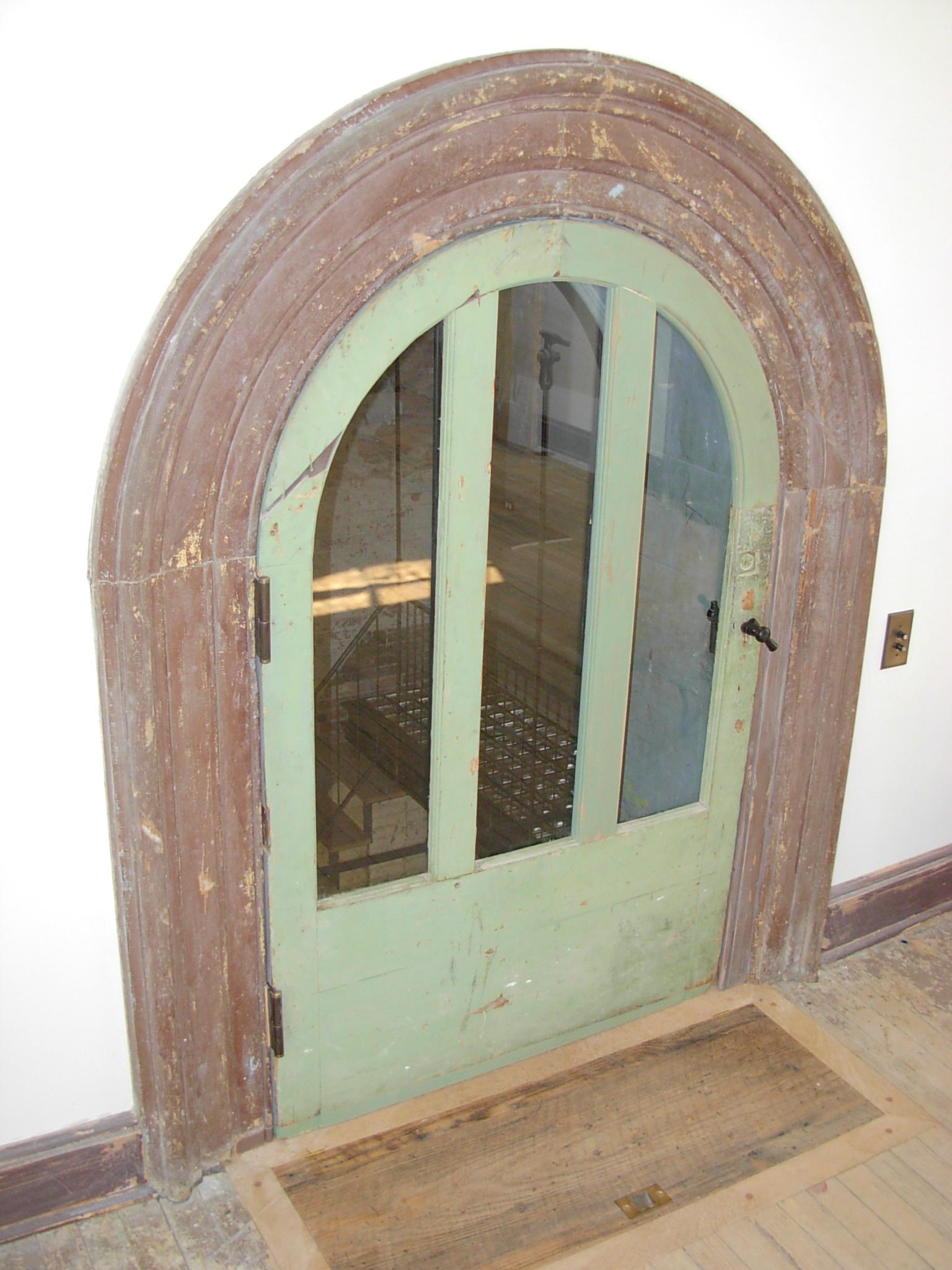 Custom Curved Door Frame