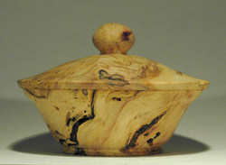Box Elder Lidded Bowl
