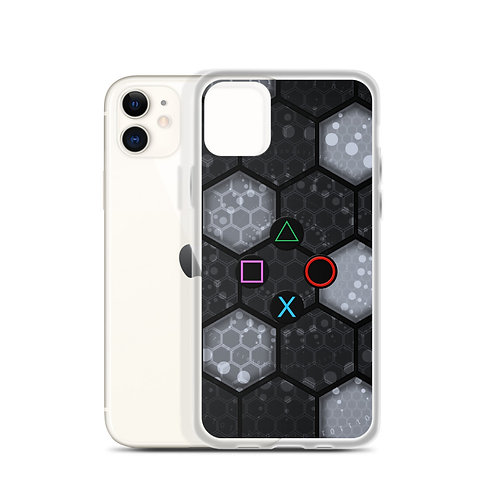 Tech Controller Buttons iPhone Case