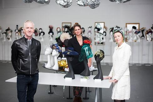 X Terrace London Hat Week Exhibition 202
