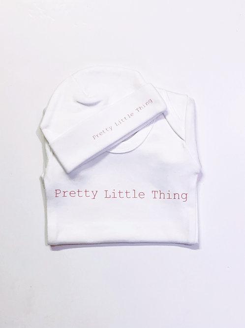 Pretty Little Thing Bodysuit Set