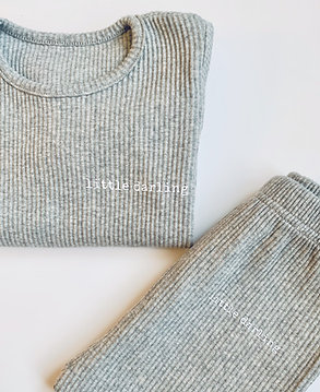 Grey Little Darling Loungewear