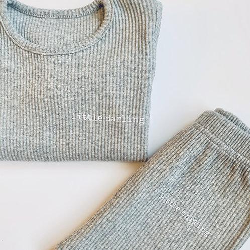 Grey Little Darling Loungewear