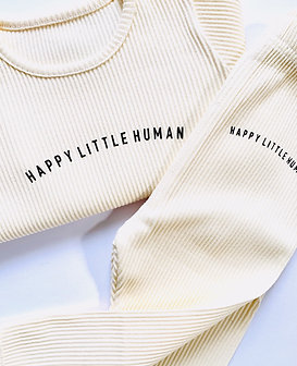 Apricot Happy Little Human Loungewear