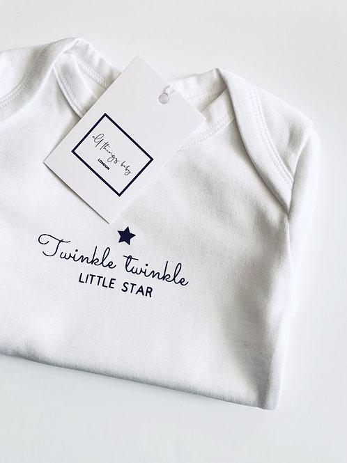 Twinkle Twinkle Little Star Bodysuit