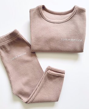 Mocha Little Darling Loungewear