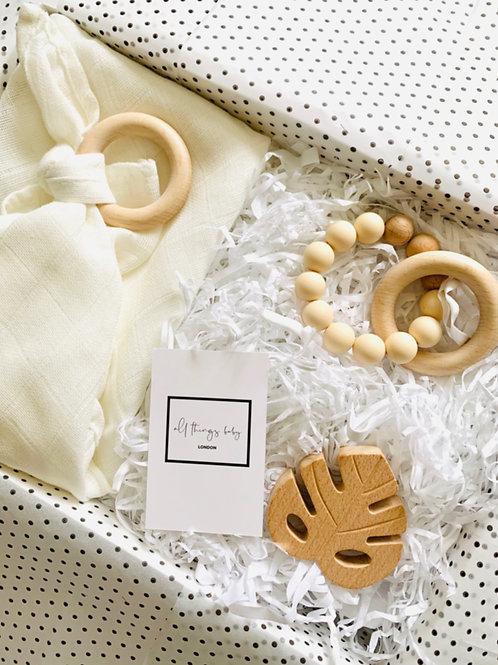 Wooden Teething Gift Set