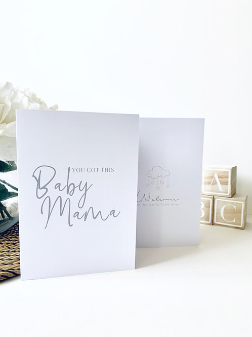 Mum & Baby Greeting Cards