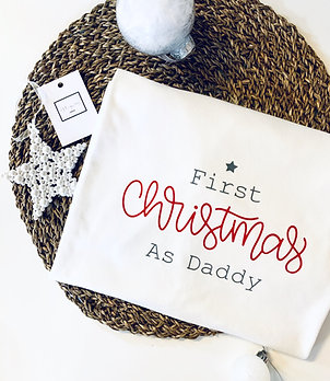 First Christmas As Daddy T-Shirt