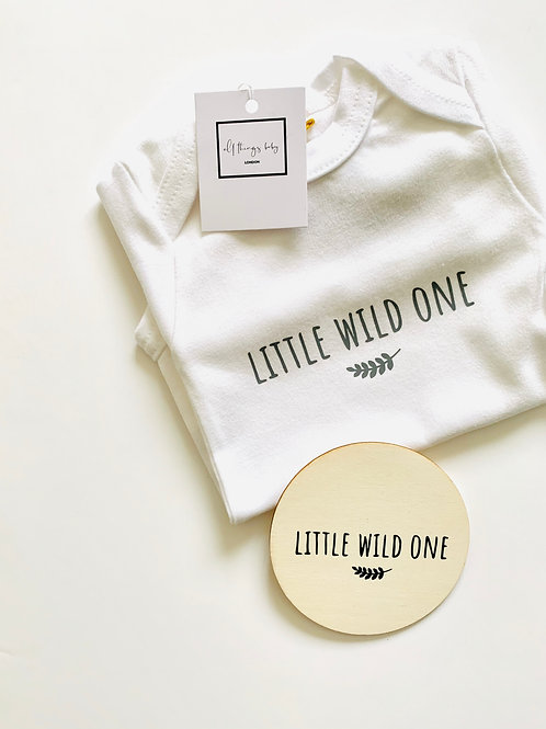 Little Wild One Bodysuit