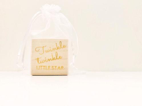 Twinkle Twinkle Little Star Individual Block