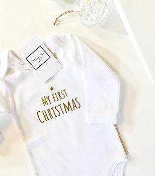 Gold Christmas Bodysuit
