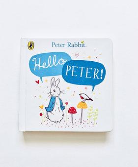 'Hello Peter' Peter Rabbit Book