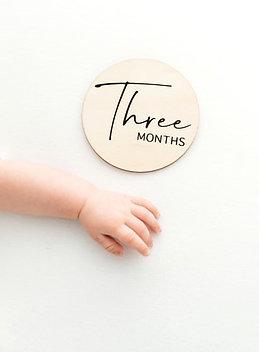 Wooden Milestone Calendar Set