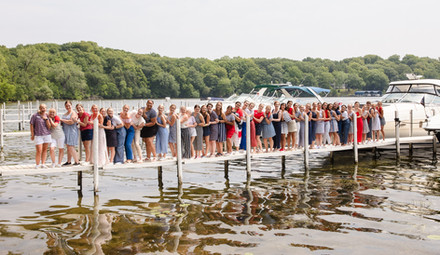 Aquatennial Candidates at the Minnetonka Power Boat Squadron Event