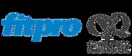 pilates fitpro logo cyq logo