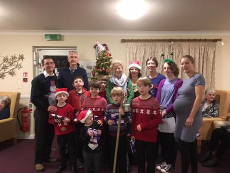 Family & Friends Choir don their Xmas jumpers!