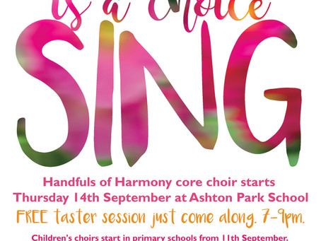 New Term - Come and Try Our Choir!