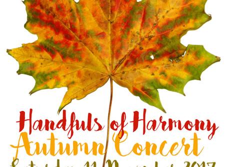 Autumn Concert - Saturday 11th November