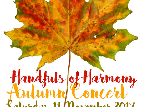 Autumn Concert - Saturday 11th November