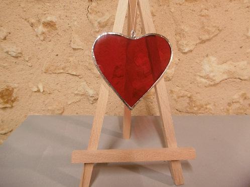 Cœur en Vitrail Tiffany