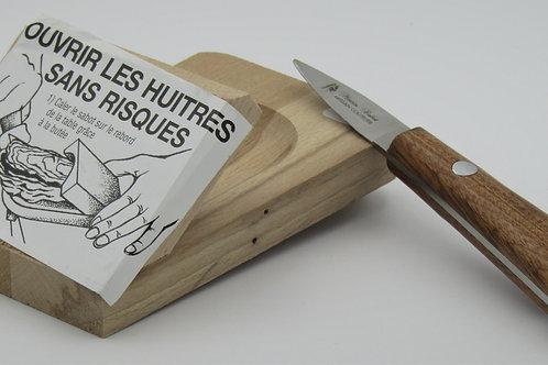 Couteau à huitre+cale