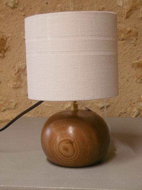 LAMPE BOULE ORME - Abat-jour LIN