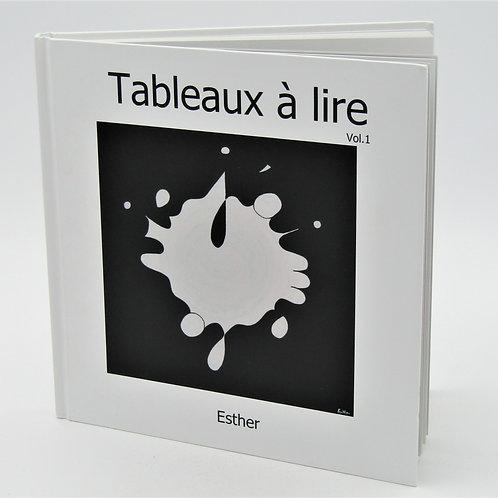"""LIVRE """"TABLEAUX A LIRE"""""""