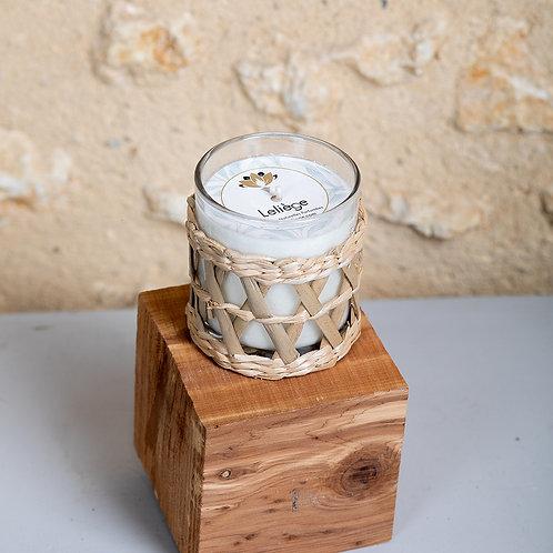 BOUGIE PAILLOTTE - Parfum CHEVREFEUILLE