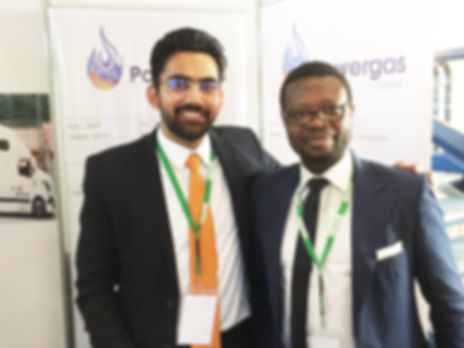 Powergas team customising energy solutions for customers at International Gas Conference in Abuja