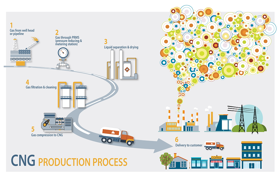 CNG Production Process Powergas Africa
