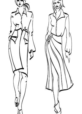 Fashion Drawing Intermediate 1, 2, 3 | TBC