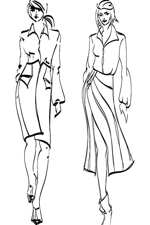 Fashion Drawing Intermediate 1, 2, 3   TBC