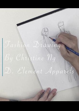 Fashion Drawing Beginner 1, 2, 3 | TBC