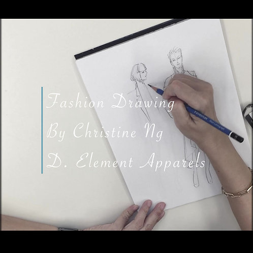 Fashion Drawing Beginner 1, 2, 3   TBC