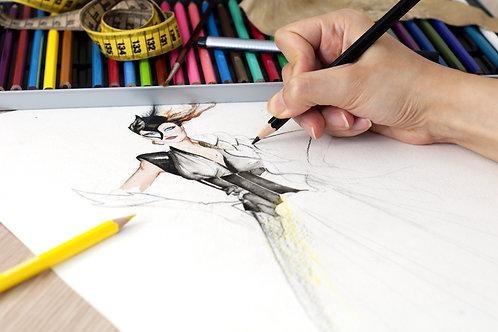 Fashion Drawing Advanced 1, 2, 3 | TBC