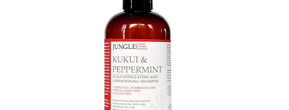 KUKUI PEPPERMINT - Scalp Stimulating and Conditioning Shampoo