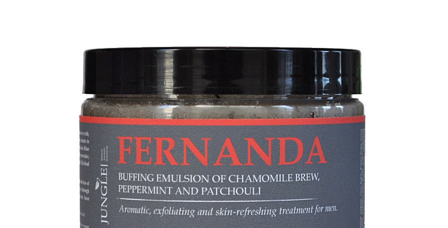 Fernanda - Buffing Emulsion of Chamomile Brew, Peppermint and Patchouli