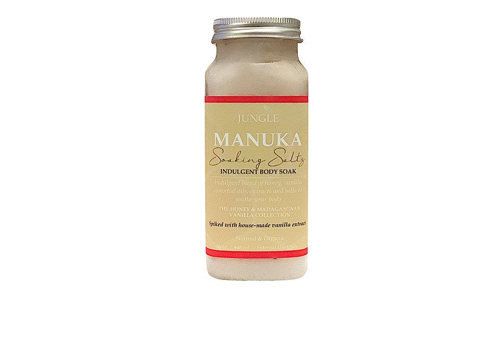 MANUKA SOAKING SALTS - Indulgent Body Soak