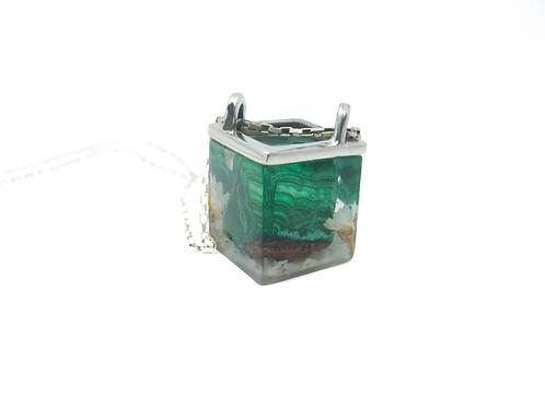 Amuleto Cub Malaquita