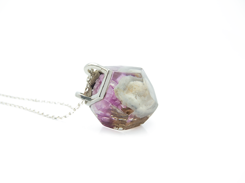 Amuleto Dod Flor de Calcedônia
