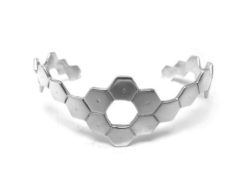 Bracelete Hexágonos