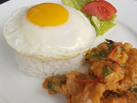 Chicken Salted Egg with Rice